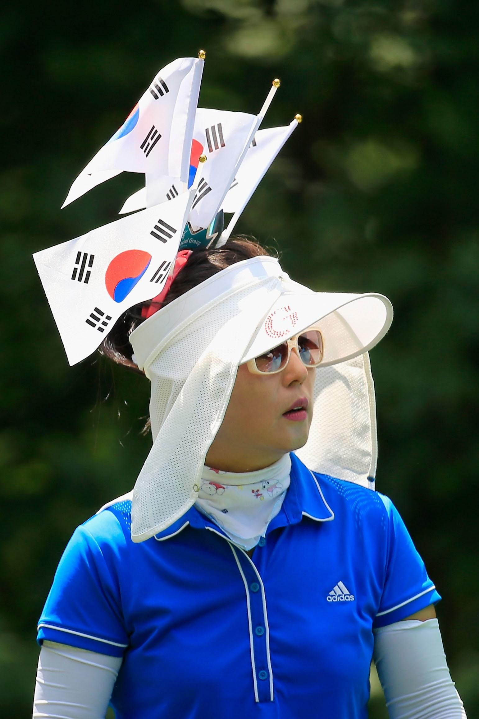 South Korea fan