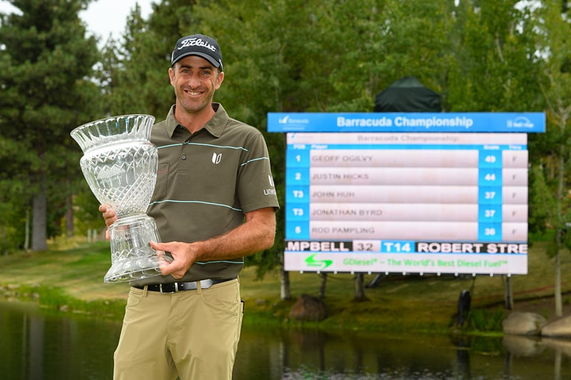 Barracuda Championship: Geoff Ogilvy