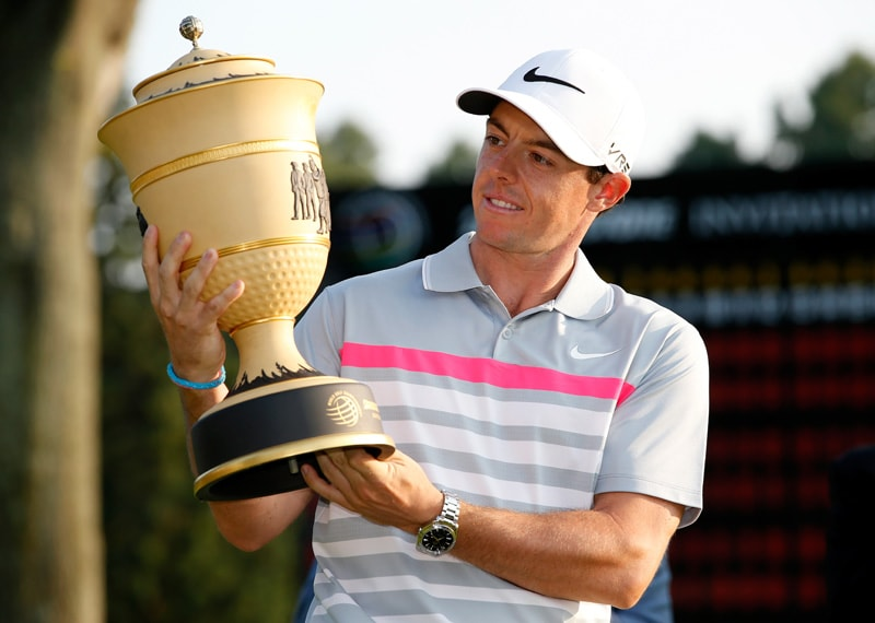 Rory McIlroy at the 2014 WGC-Bridgestone Invitational