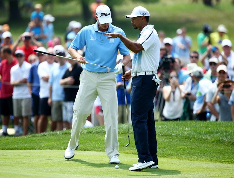 Steve Stricker, Tiger Woods