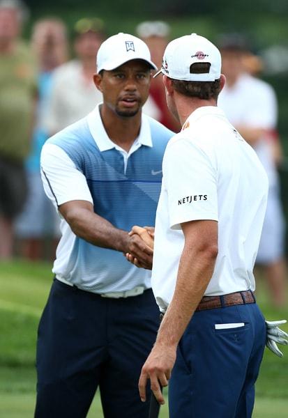 Tiger Woods, Harris English