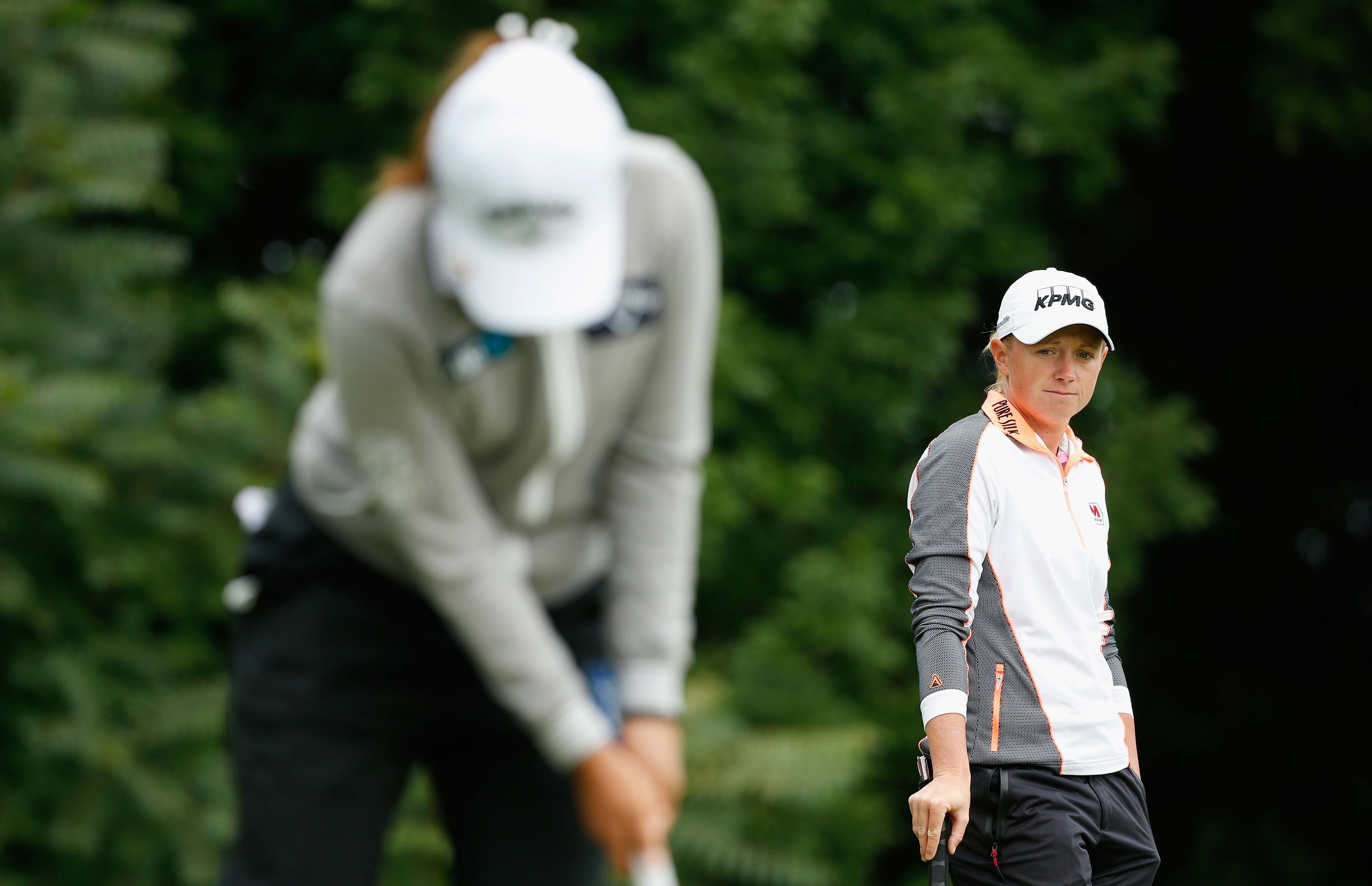 Stacy Lewis and Lydia Ko