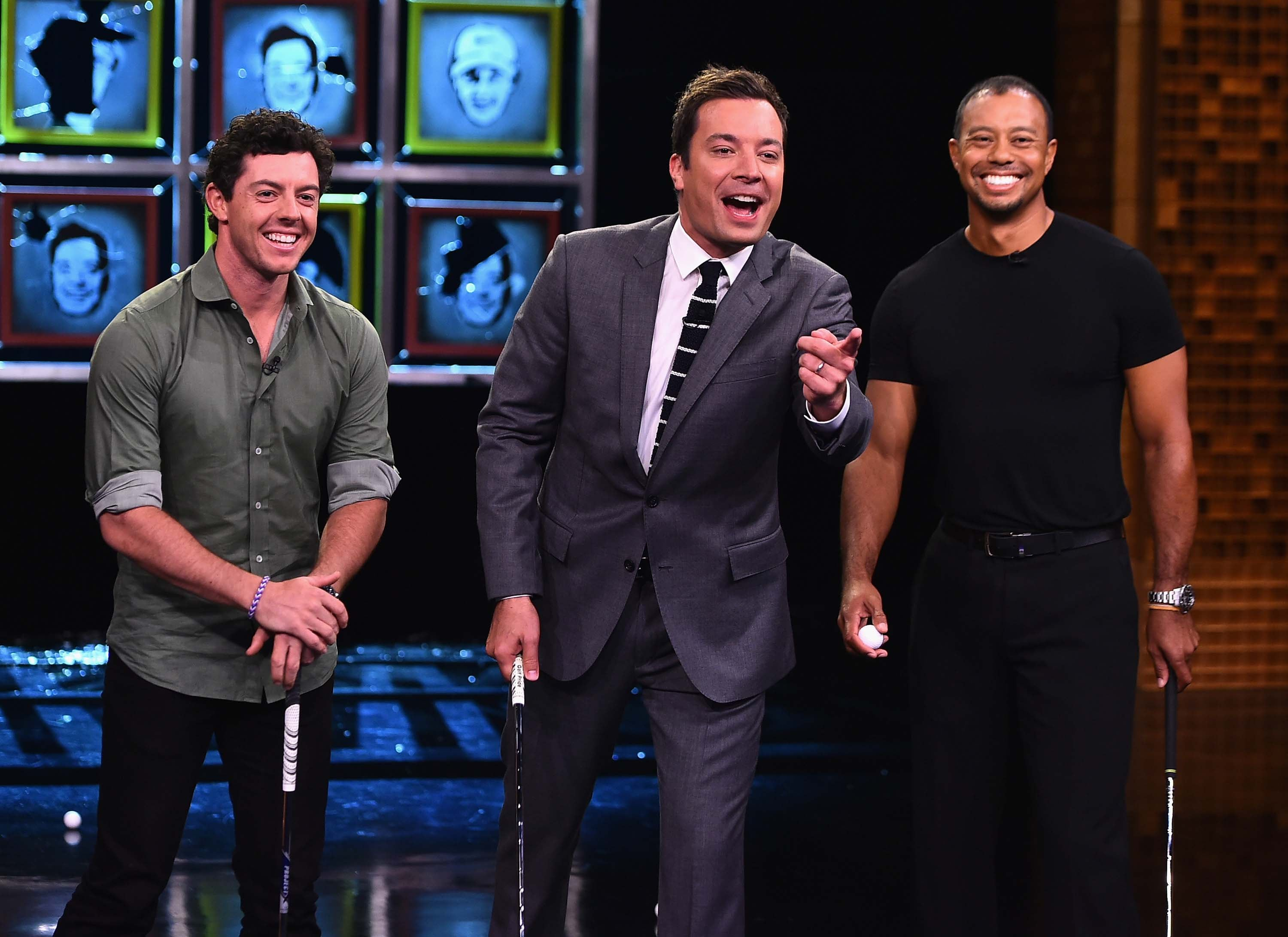 Tiger and Rory on 'The Tonight Show Starring Jimmy Fallon'