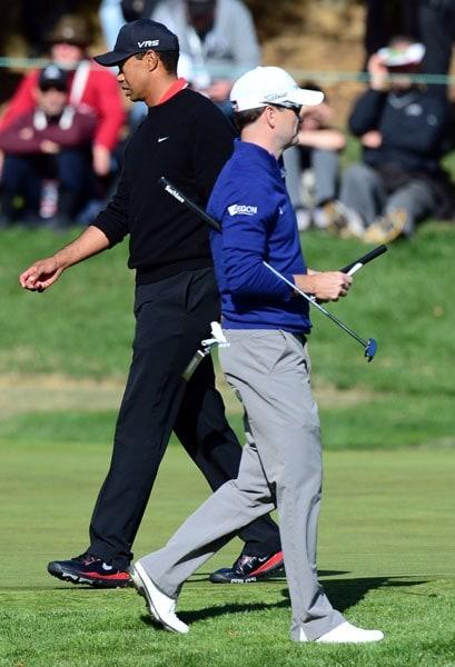 Tiger Woods, Zach Johnson