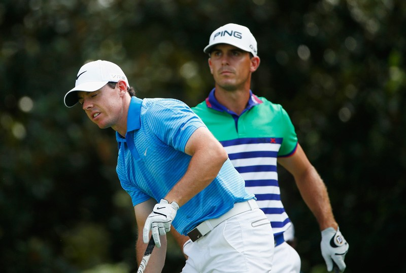 Rory McIlroy and Billy Horschel