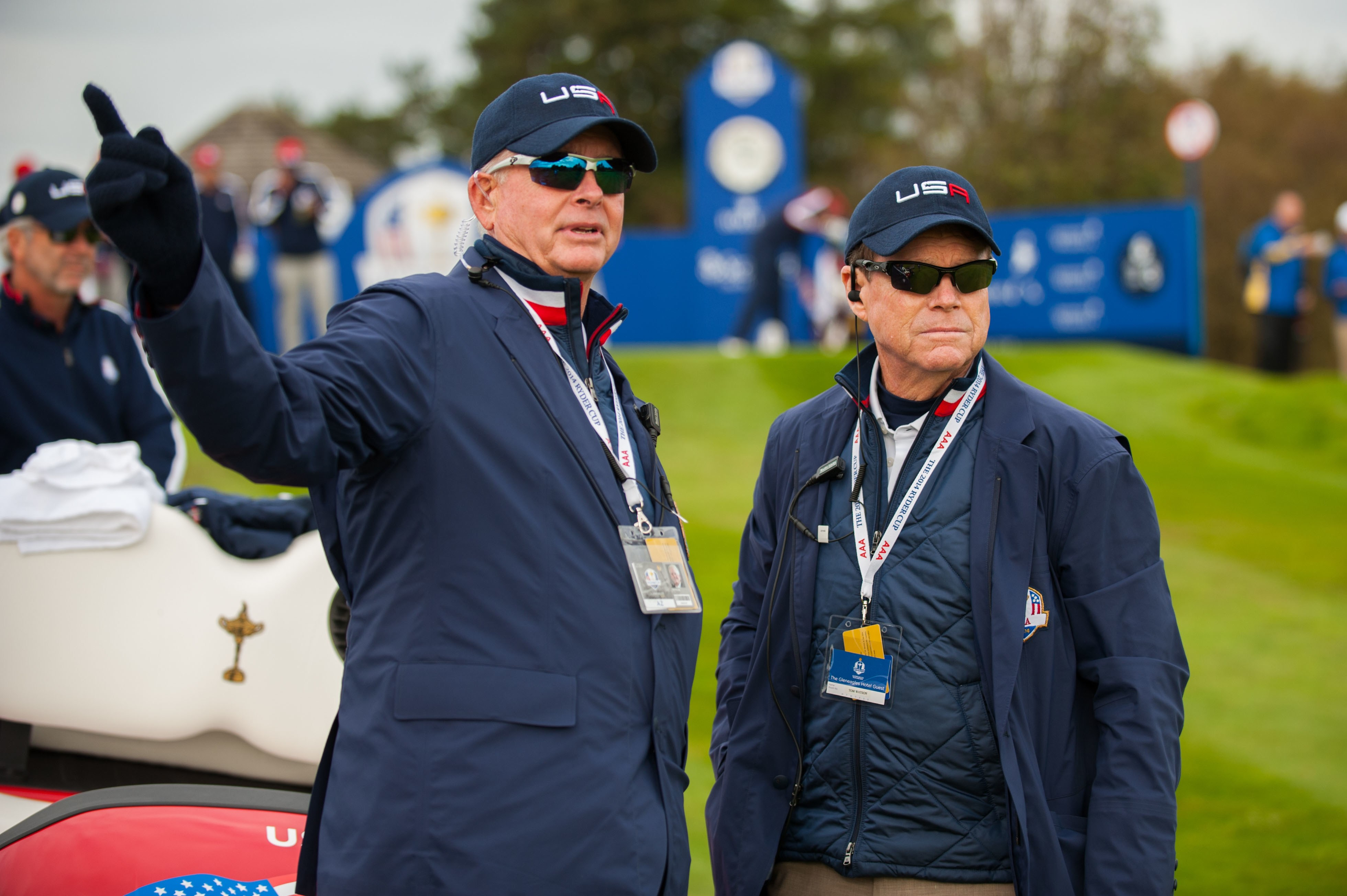 Ted Bishop and Tom Watson