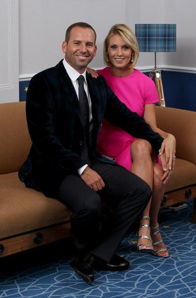 Sergio Garcia and Katharina Boehm