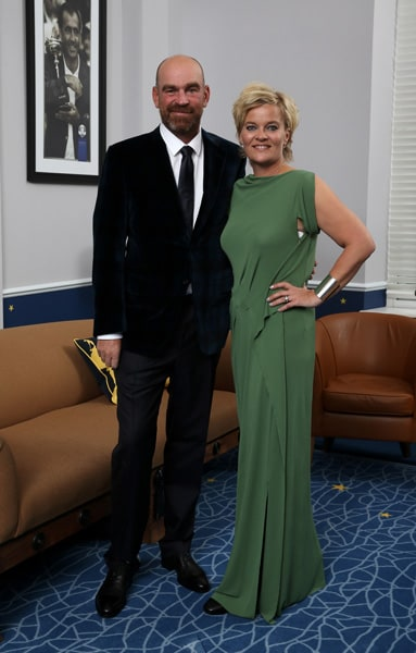 Thomas and Pernilla Bjorn