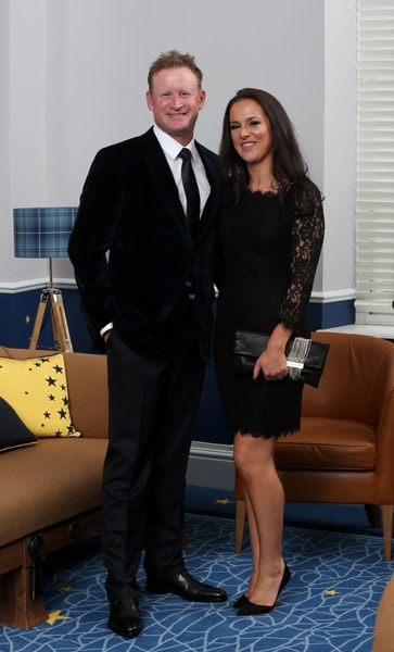 Jamie Donaldson and Kathryn Tagg