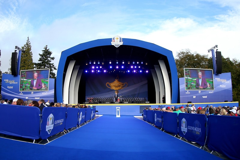 2014 Ryder Cup opening ceremony