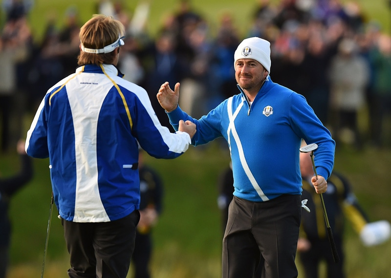 Victor Dubuisson and Graeme McDowell