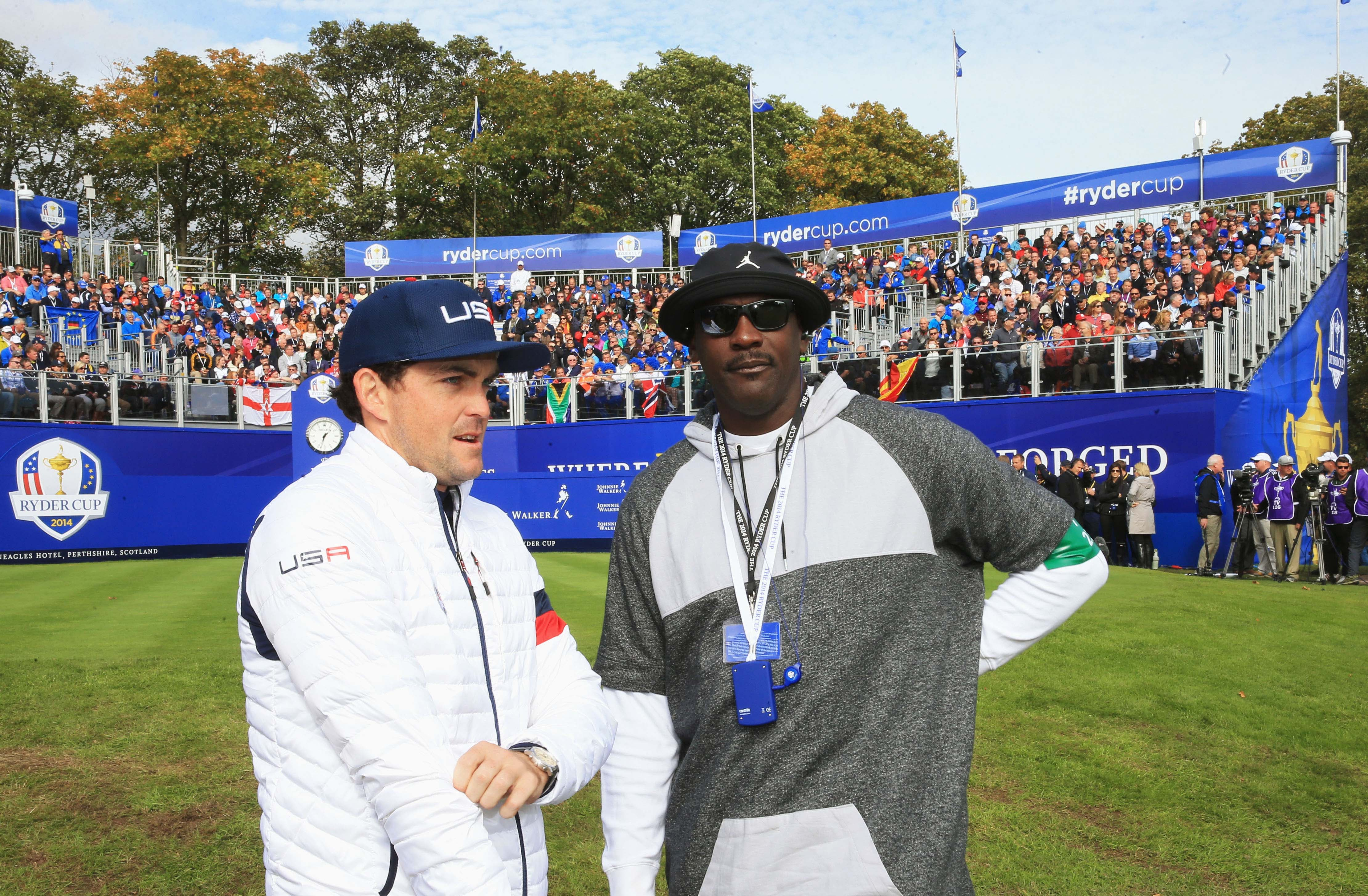 Michael Jordan dissing Keegan Bradley on Twitter