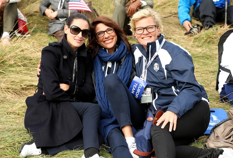 Kirsty Gallacher, Suzanne Torrance, Pernilla Bjorn