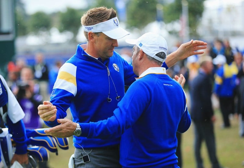 Ian Poulter and Paul McGinley