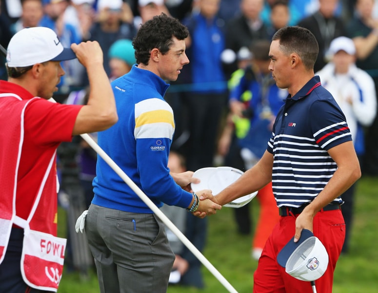 10. Beats Fowler in Ryder Cup singles