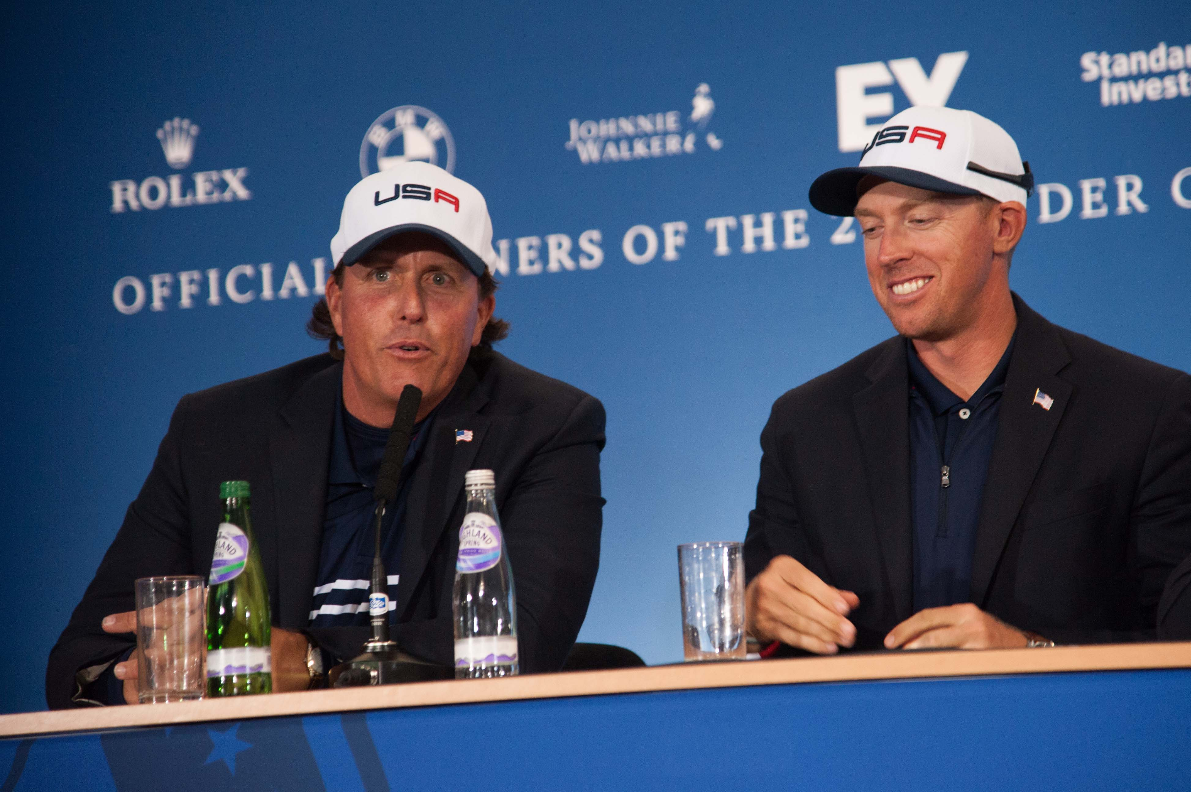 Phil Mickelson whining in the post-Ryder Cup press conference