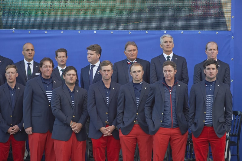 10. The U.S. Ryder Cup task force