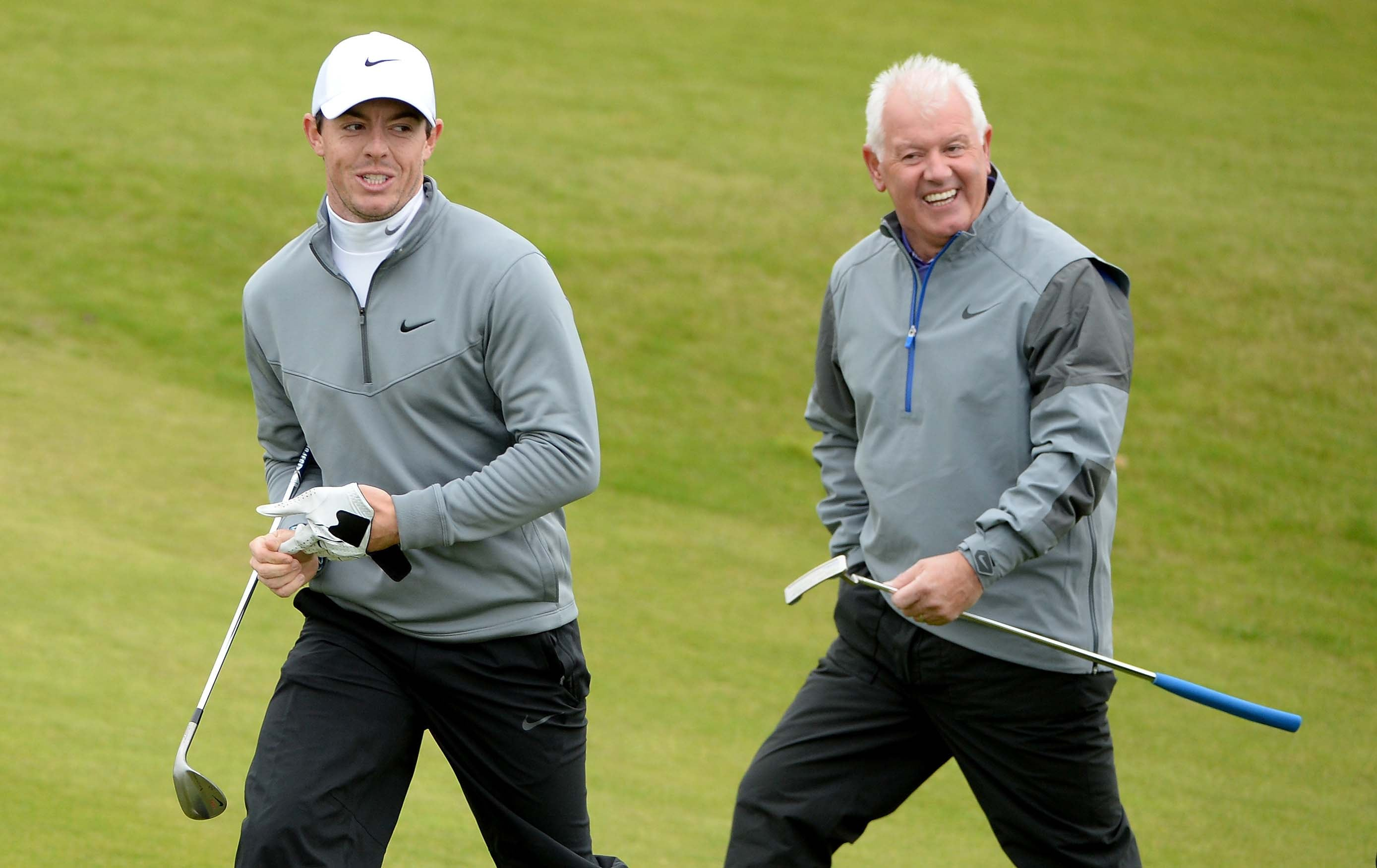 Rory McIlroy's father betting on him the win the British Open before he was 26 ... or