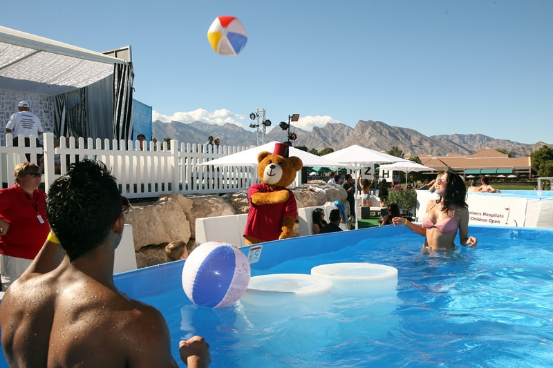 Shriners Hospitals for Children Open pool party