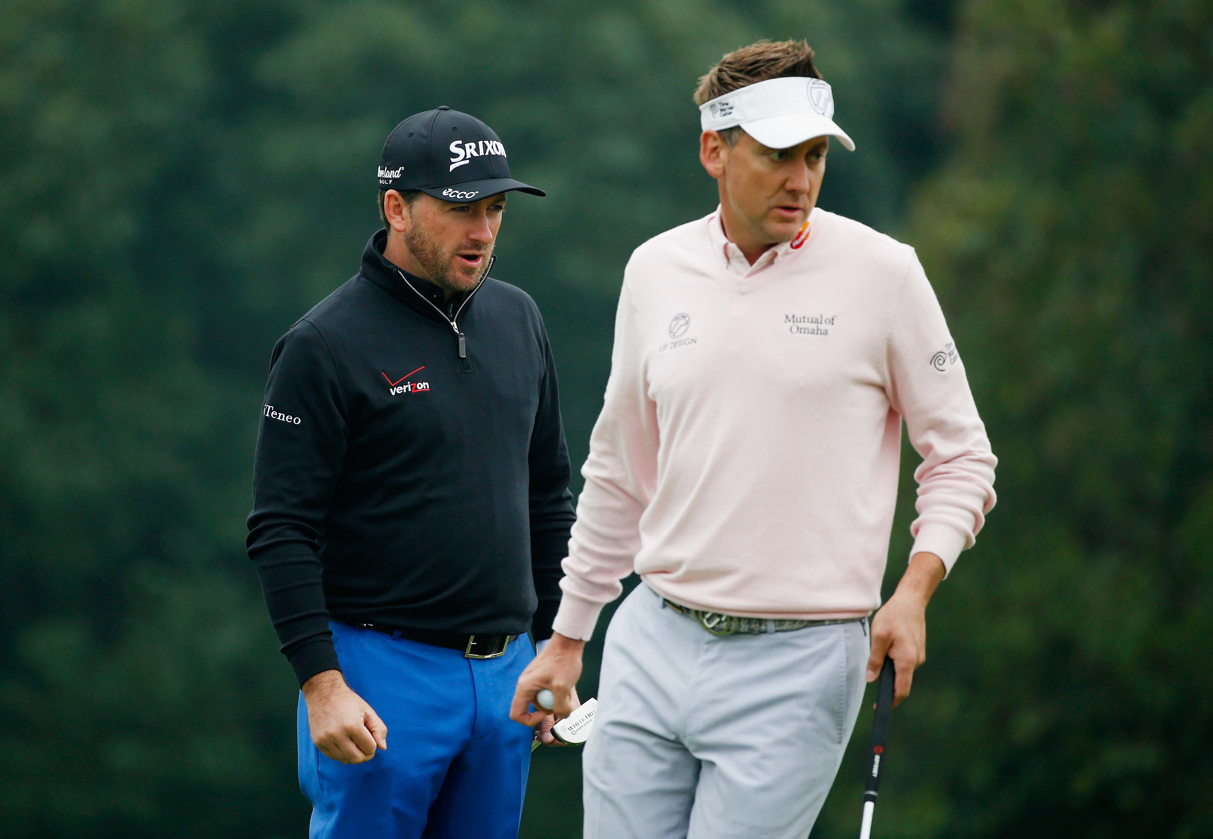 Graeme McDowell and Ian Poulter