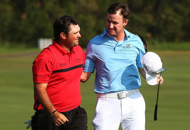 Patrick Reed and Jimmy Walker