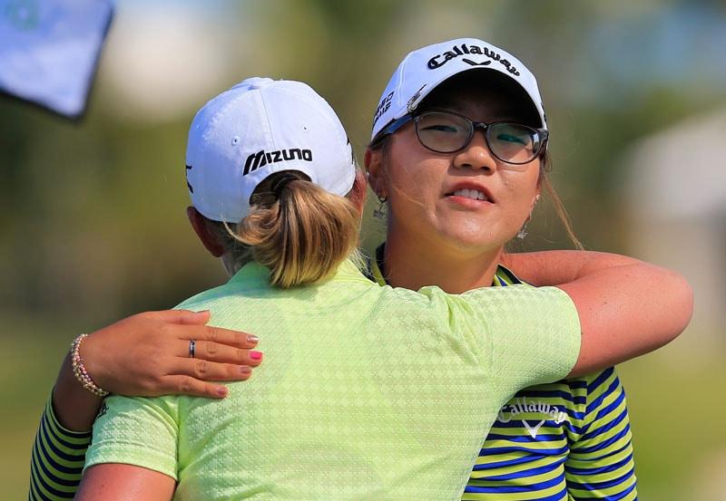Lydia Ko, Stacy Lewis