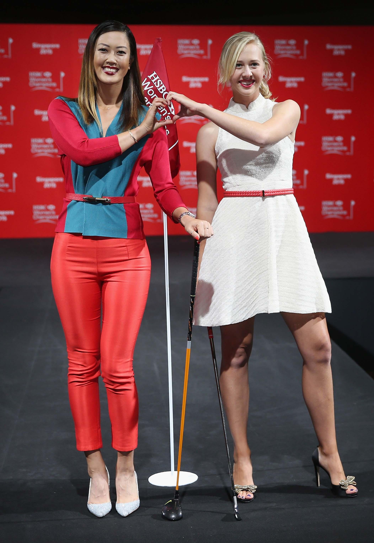 Michelle Wie and Jessica Korda