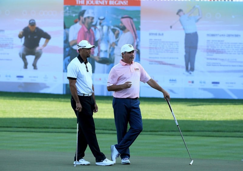 Tiger Woods, Fred Couples