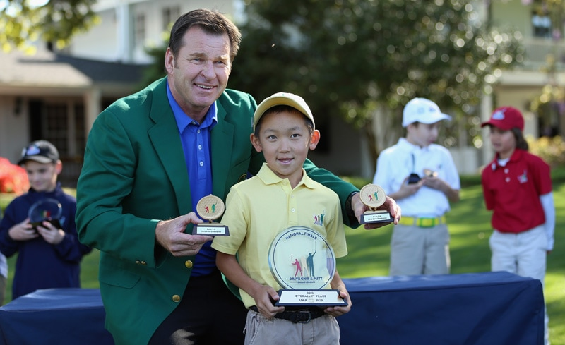 Sir Nick Faldo and Jay Leng Jr.