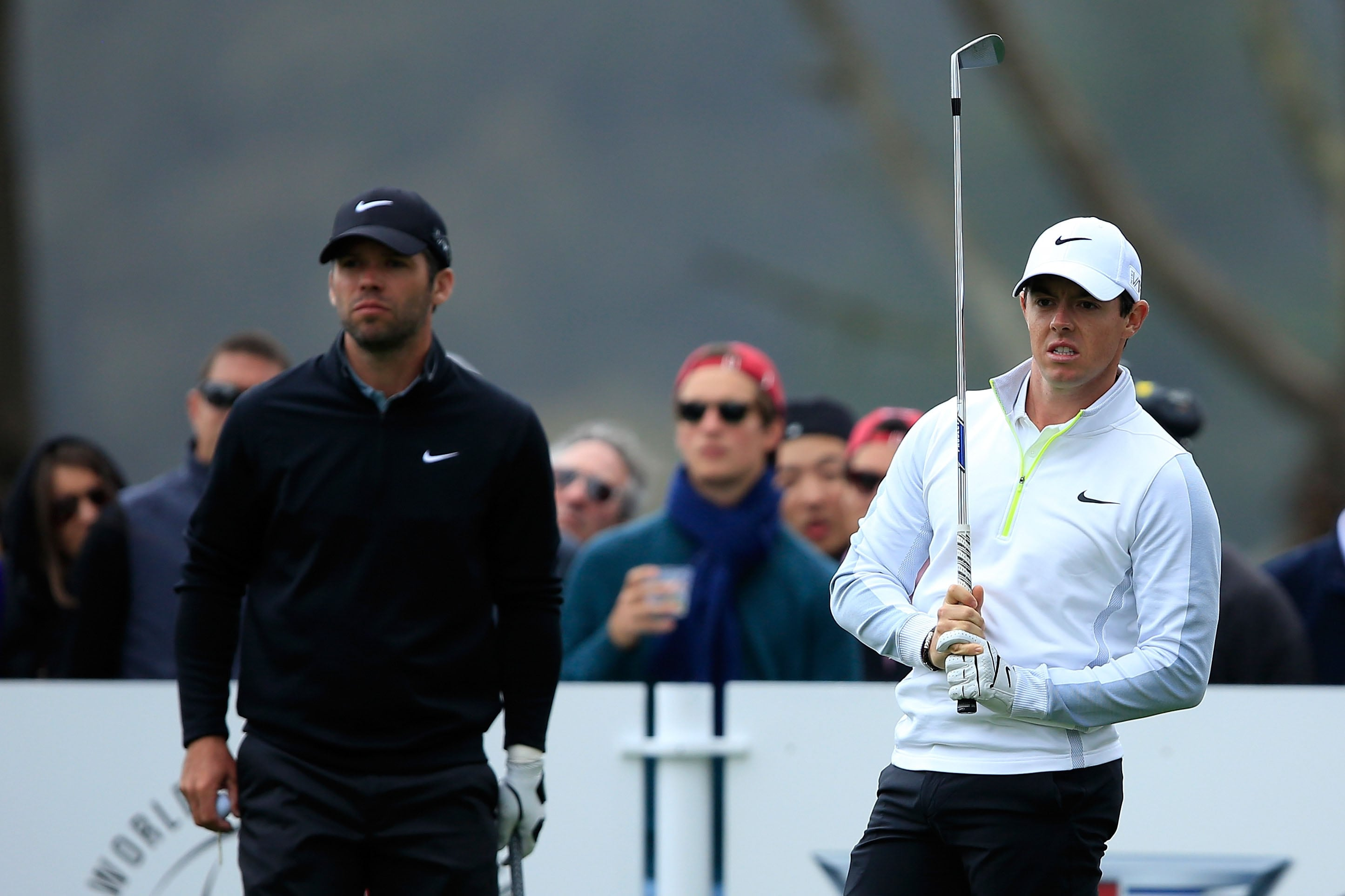 Paul Casey and Rory McIlroy