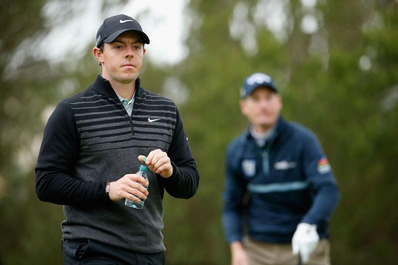 Rory McIlroy and Jim Furyk