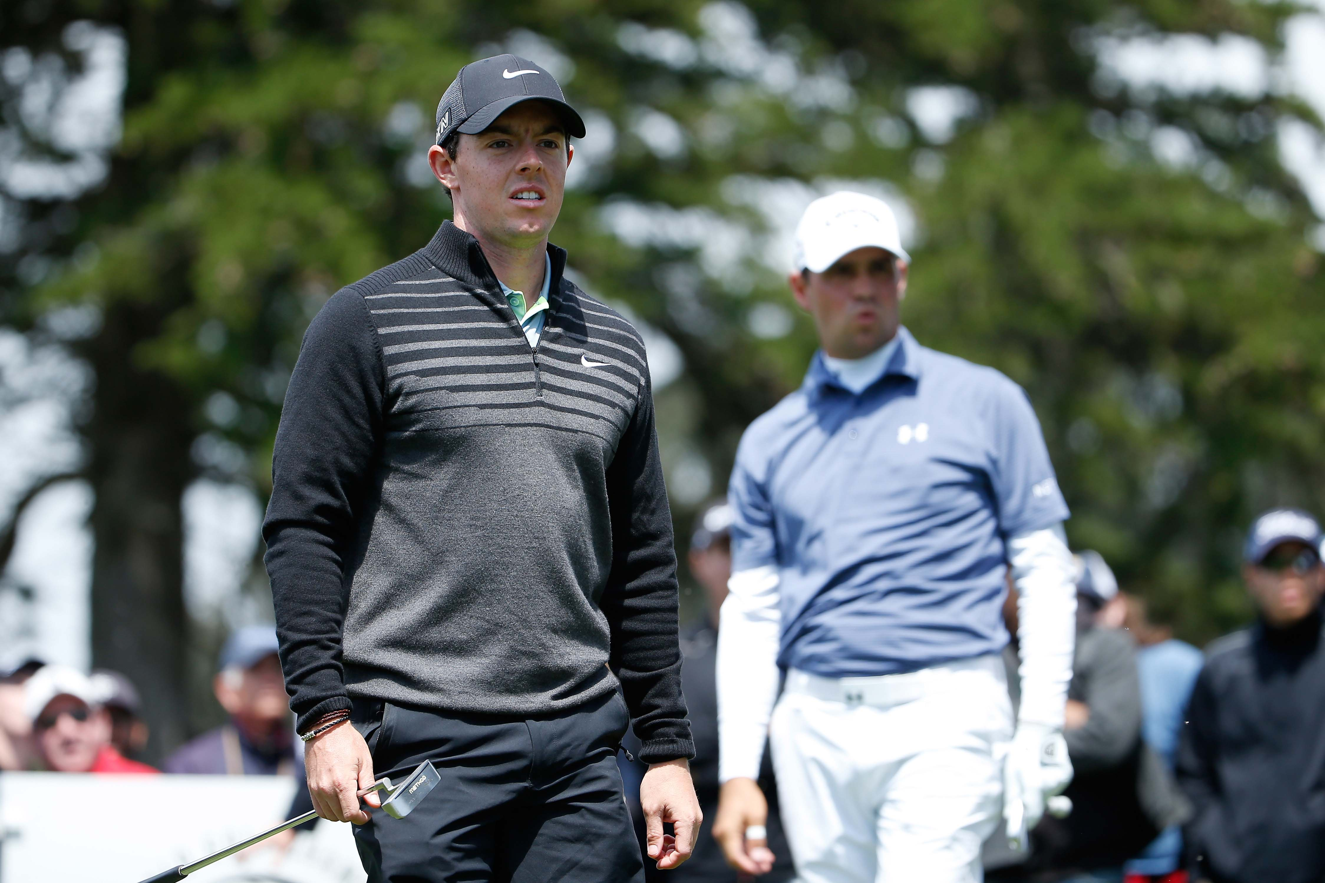 Rory McIlroy and Gary Woodland