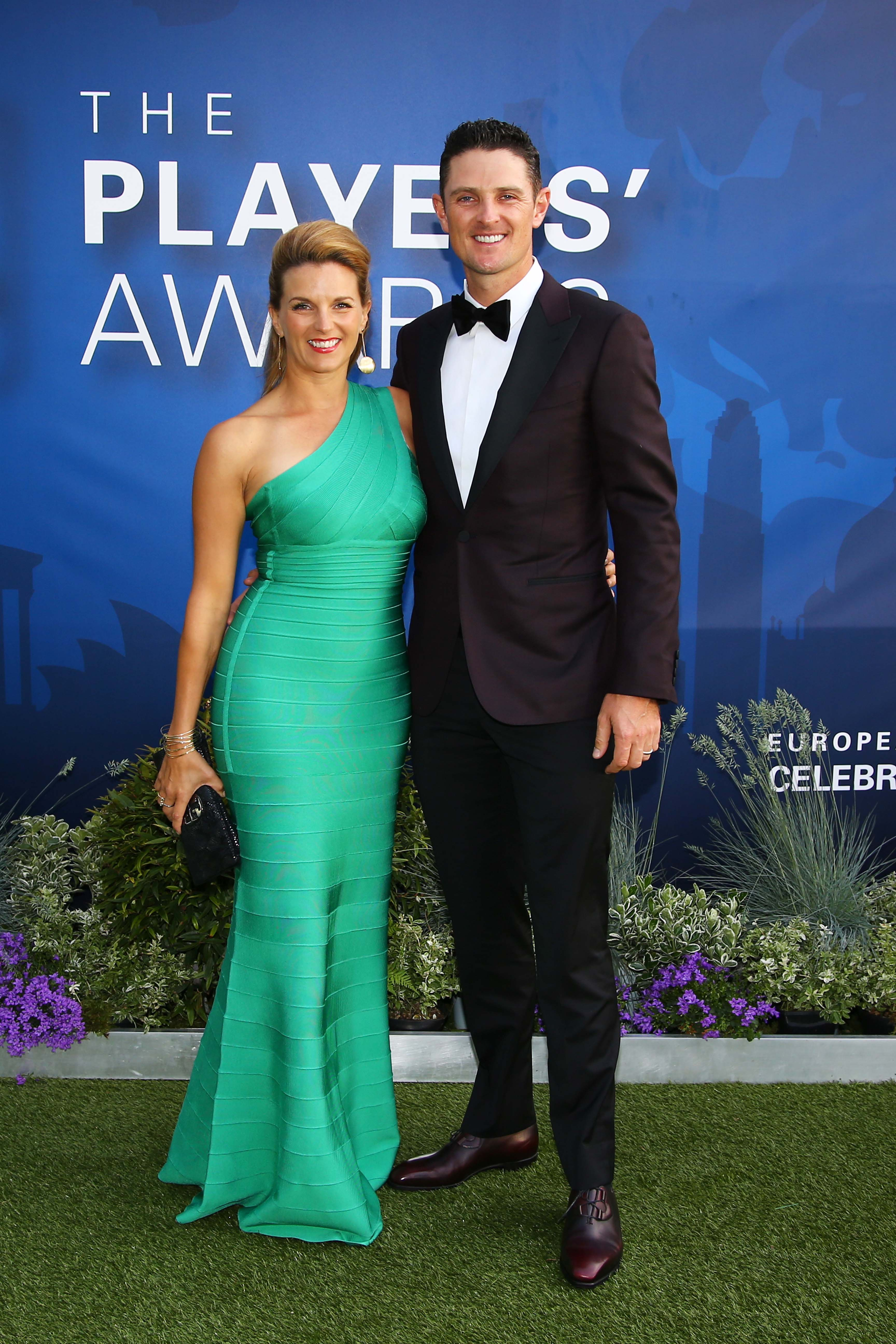 Justin Rose and his wife Kate