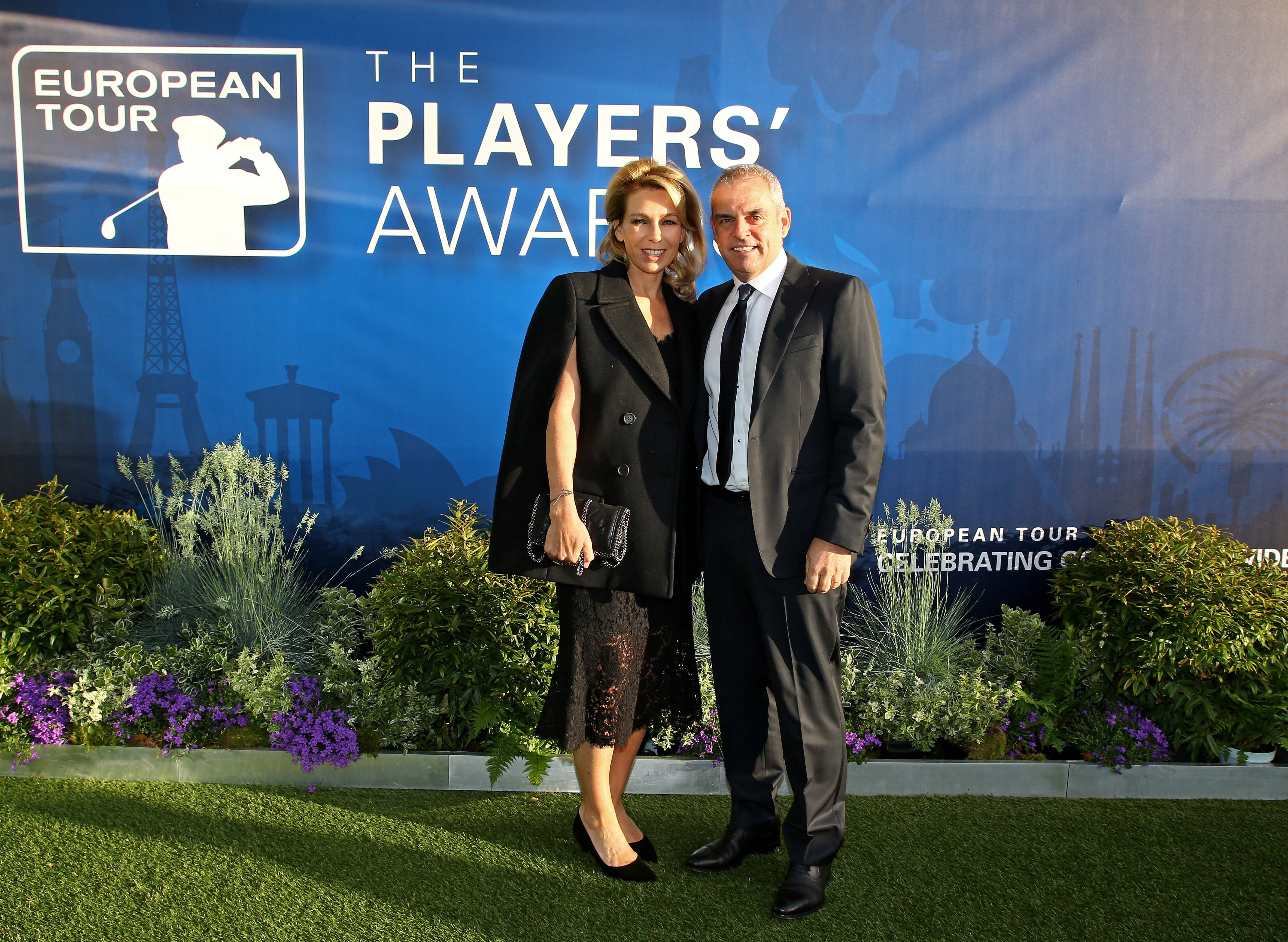 Paul McGinley and his wife Alison