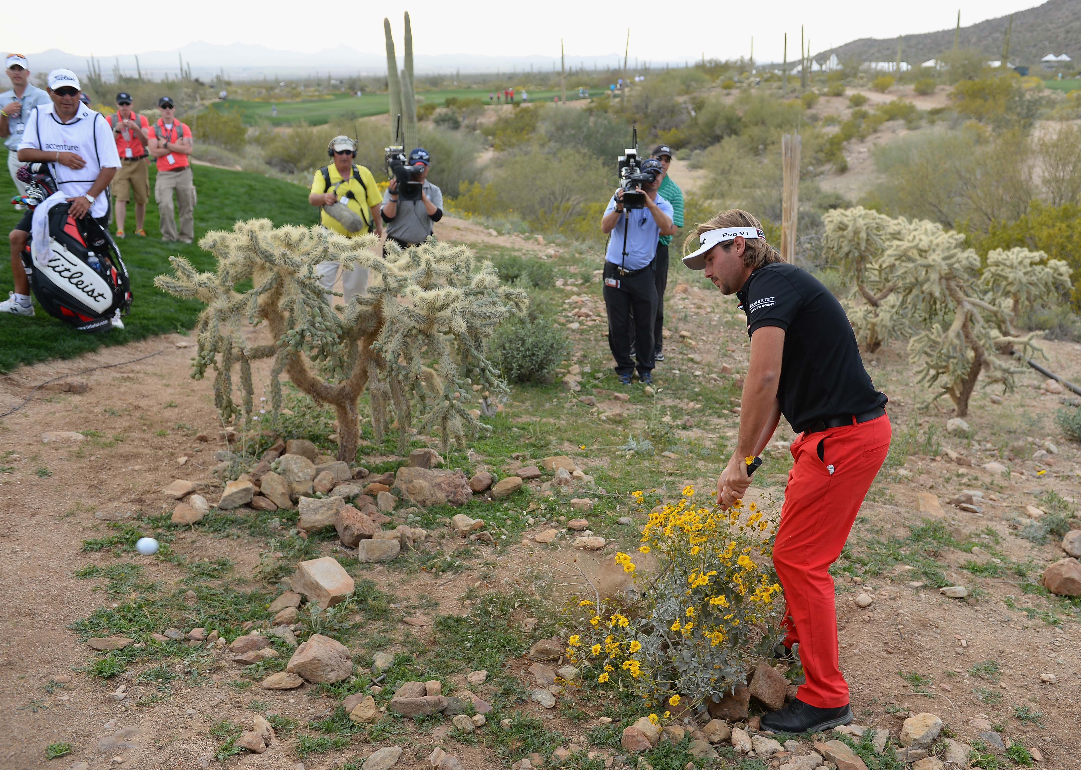Victor Dubuisson at the WGC-Match Play ... or
