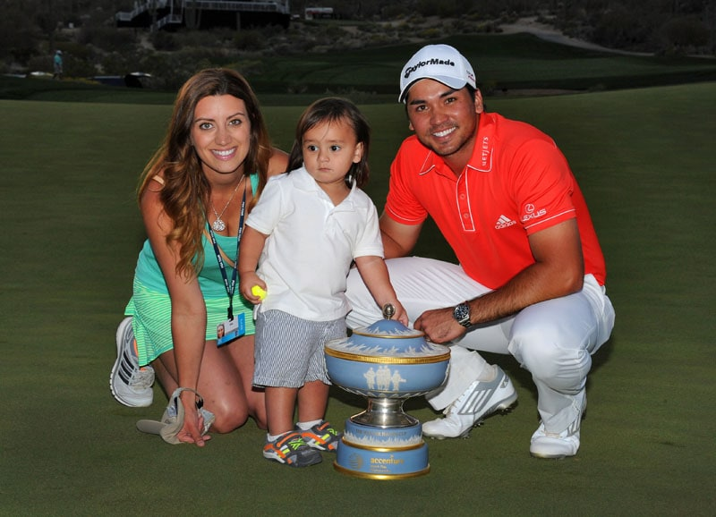 Ellie and Jason Day