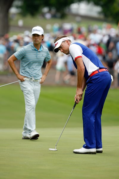 Kevin Na and Ian Poulter