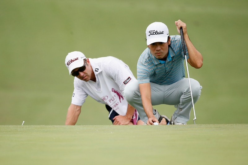 Kevin Na and Kenny Harms