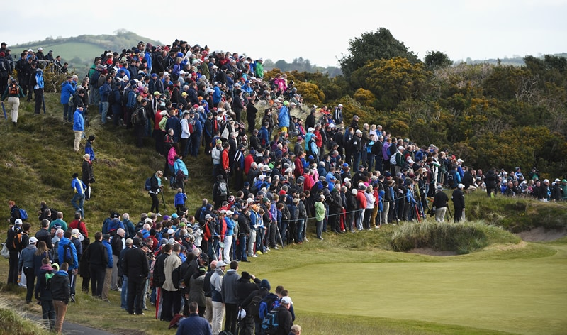 Irish Open crowds