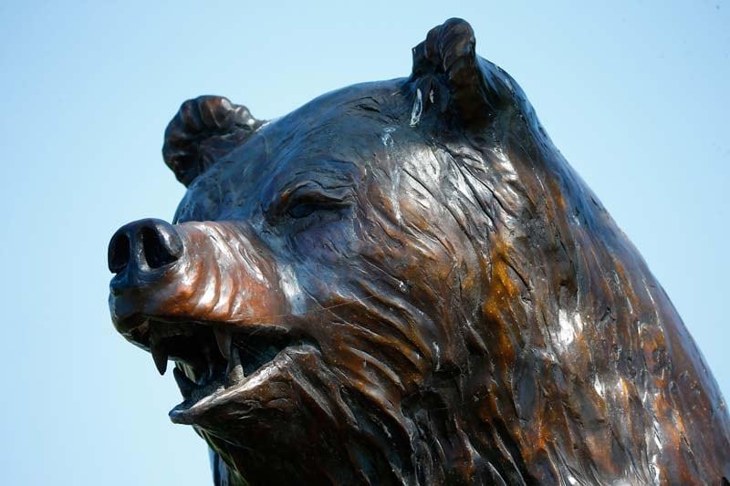 Bear Trap statue