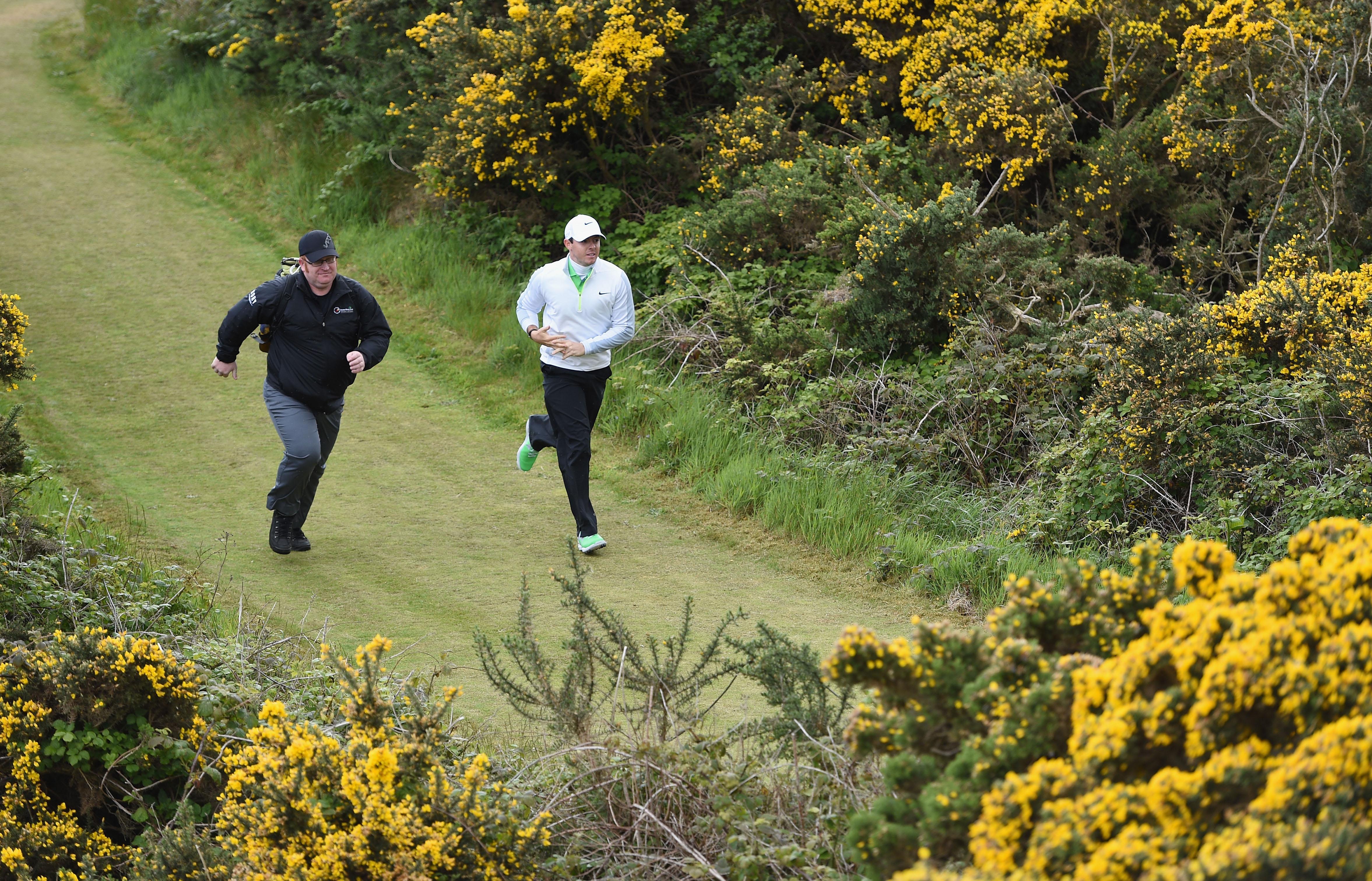 Rory's Plan B - cross-country runner