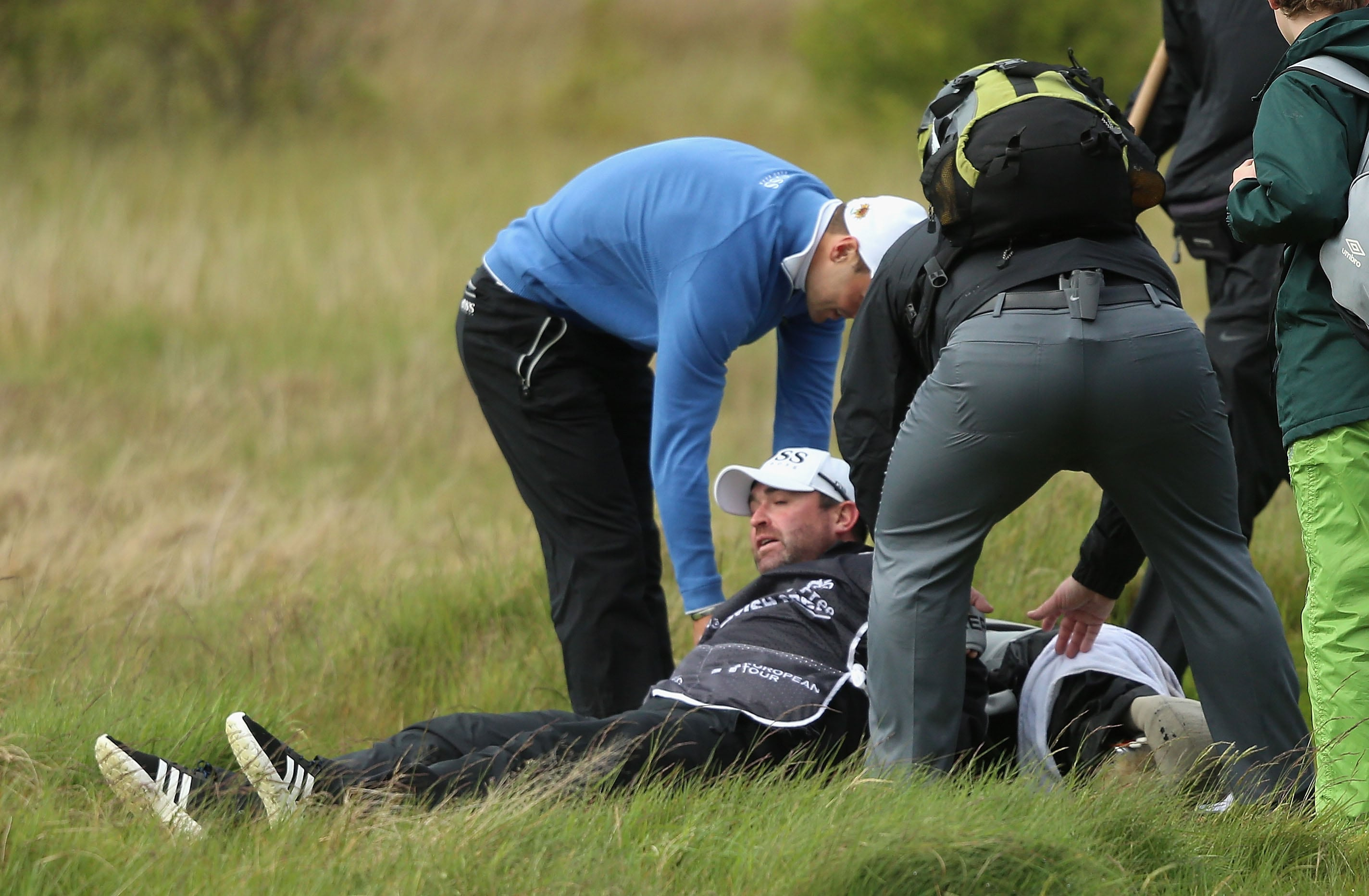 Tough course - on caddies, too