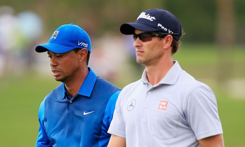 Tiger Woods, Adam Scott