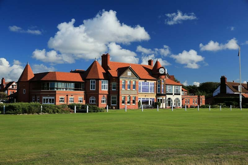 Clubhouse at Royal Liverpool
