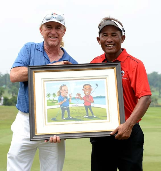 We went to the EurAsia Cup and all we came back with was this lousy picture