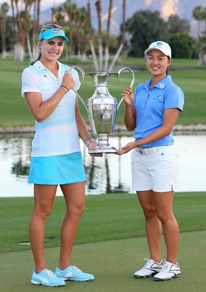 Lexi Thompson and Minjee Lee