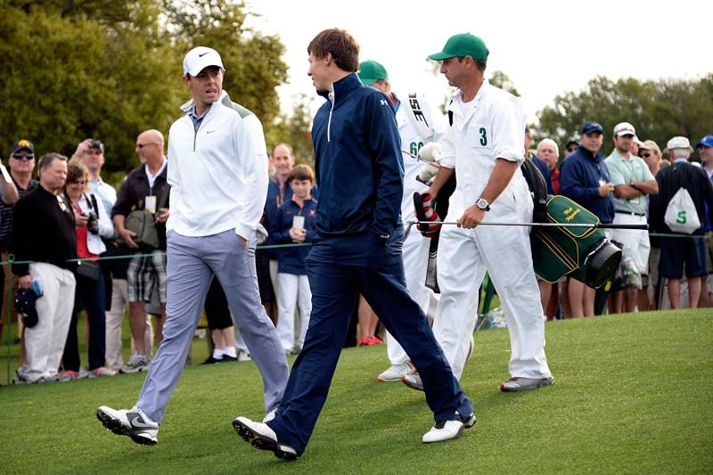 Rory McIlroy and Matthew Fitzpatrick