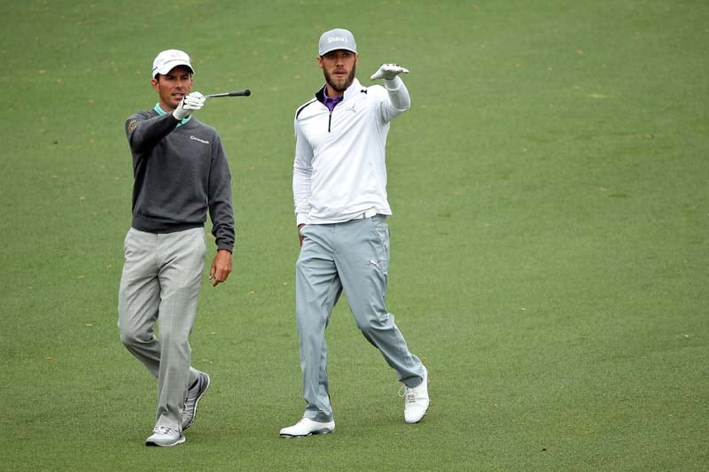 Mike Weir and Graham DeLaet
