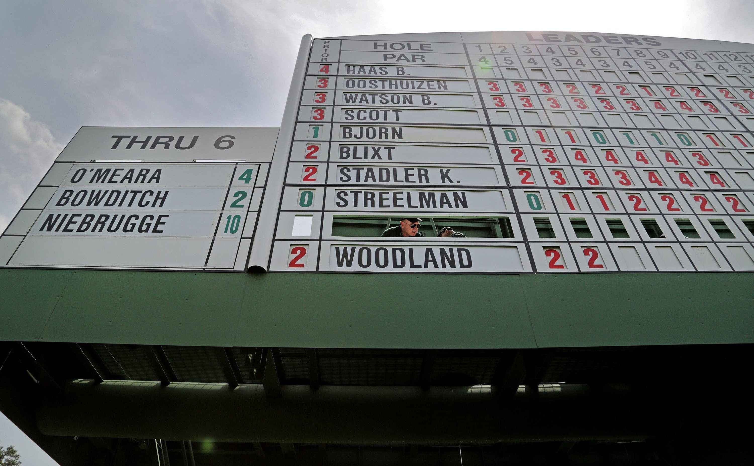 9. Woods' Masters absence