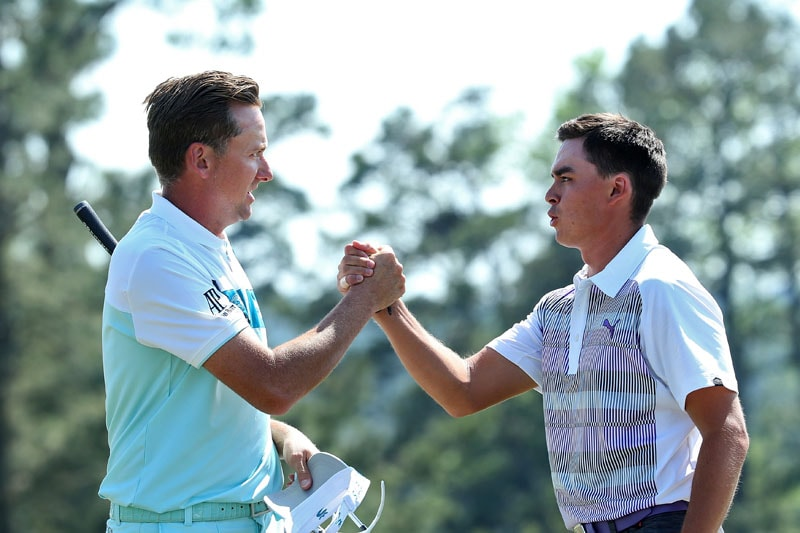 Ian Poulter, Rickie Fowler